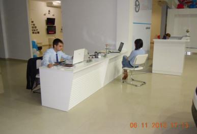 Мебель для автосалона МAZDA