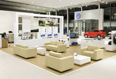 Автосалон Volkswagen